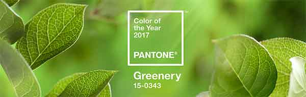 Greenery, color pantone del año 2017