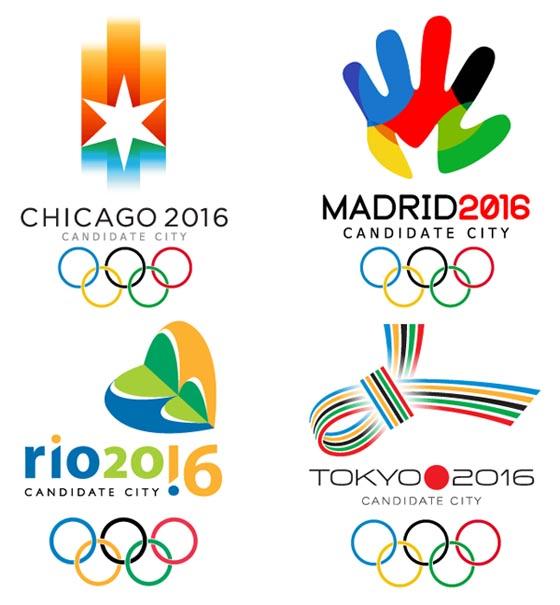 Logos De Ciudades Candidatas A Olimpiadas Del 2016 Oh Grafico