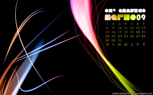 Wallpaper Calendario Marzo 09