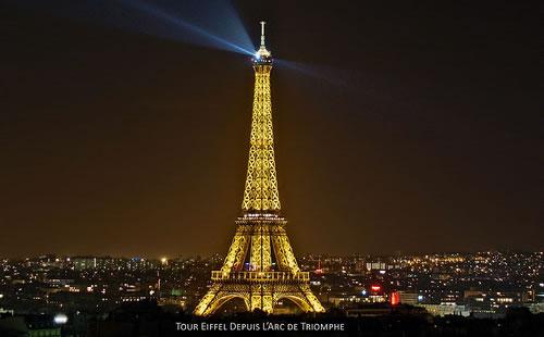 Fotografía de la Torre Eiffel