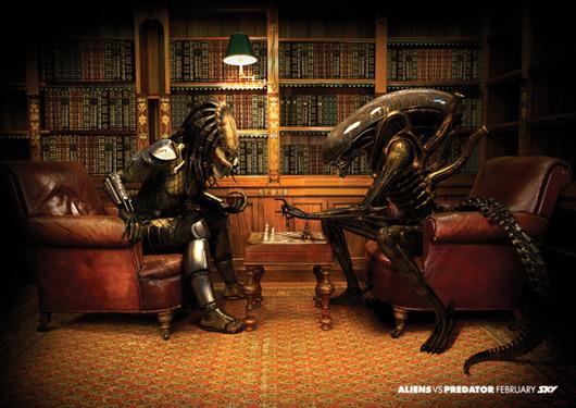 Alien vs Depredador: anuncio de Sky