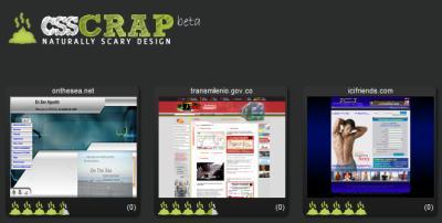 CSS Crap: lo peor del diseño web