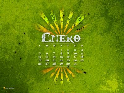 Wallpapers calendario enero 2009