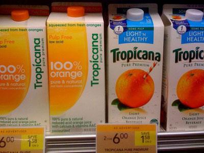 Rediseño de Tropicana: fracaso de PepsiCo
